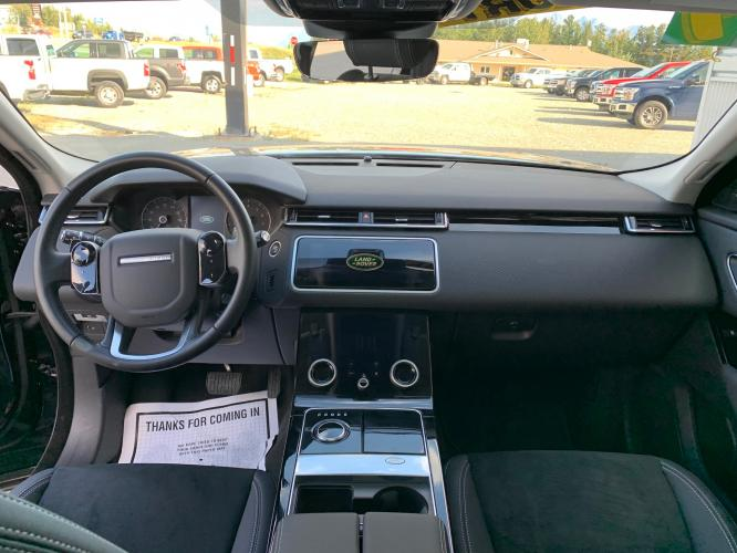 2019 Black /Black Land Rover Range Rover Velar Velar (SALYA2EX9KA) with an 2.0L L4 DOHC 16V engine, 8A transmission, located at 1960 Industrial Drive, Wasilla, AK, 99654, (907) 376-5555, 61.573475, -149.400146 - Photo #10