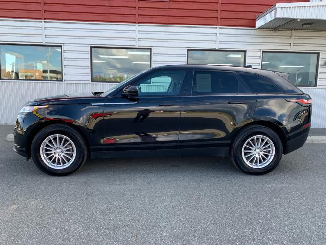 2019 Black /Black Land Rover Range Rover Velar Velar (SALYA2EX9KA) with an 2.0L L4 DOHC 16V engine, 8A transmission, located at 1960 Industrial Drive, Wasilla, AK, 99654, (907) 376-5555, 61.573475, -149.400146 - Photo #1