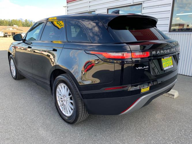 2019 Black /Black Land Rover Range Rover Velar Velar (SALYA2EX9KA) with an 2.0L L4 DOHC 16V engine, 8A transmission, located at 1960 Industrial Drive, Wasilla, AK, 99654, (907) 376-5555, 61.573475, -149.400146 - Photo #2
