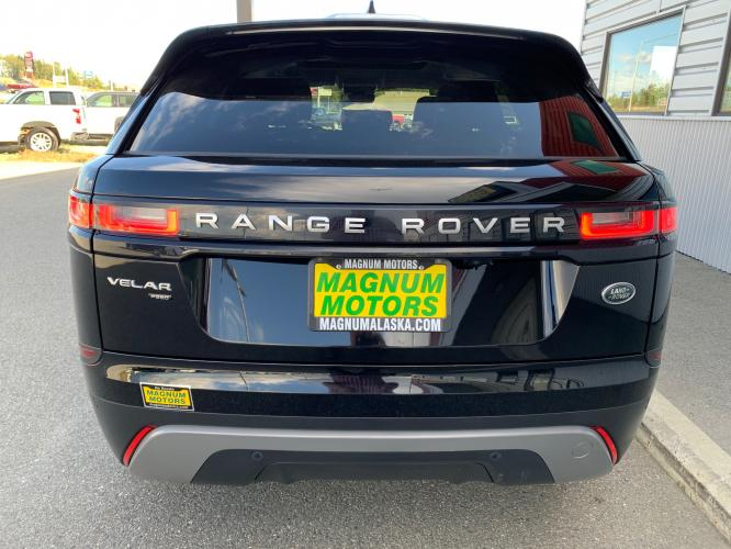2019 Black /Black Land Rover Range Rover Velar Velar (SALYA2EX9KA) with an 2.0L L4 DOHC 16V engine, 8A transmission, located at 1960 Industrial Drive, Wasilla, AK, 99654, (907) 376-5555, 61.573475, -149.400146 - Photo #3