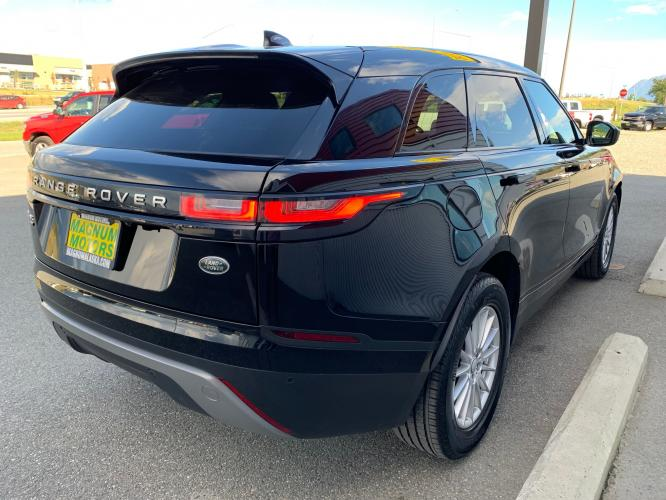 2019 Black /Black Land Rover Range Rover Velar Velar (SALYA2EX9KA) with an 2.0L L4 DOHC 16V engine, 8A transmission, located at 1960 Industrial Drive, Wasilla, AK, 99654, (907) 376-5555, 61.573475, -149.400146 - Photo #4