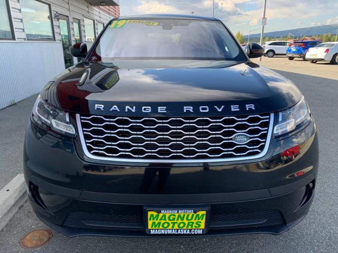 2019 Black /Black Land Rover Range Rover Velar Velar (SALYA2EX9KA) with an 2.0L L4 DOHC 16V engine, 8A transmission, located at 1960 Industrial Drive, Wasilla, AK, 99654, (907) 376-5555, 61.573475, -149.400146 - Photo #6