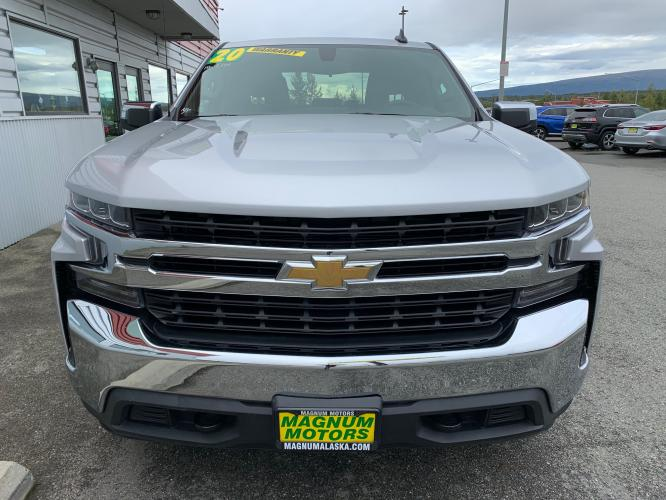 2020 Silver /Black Chevrolet Silverado 1500 LT Double Cab 4WD (1GCRYDED3LZ) with an 5.3L V8 OHV 16V engine, 6A transmission, located at 1960 Industrial Drive, Wasilla, AK, 99654, (907) 376-5555, 61.573475, -149.400146 - Photo #7