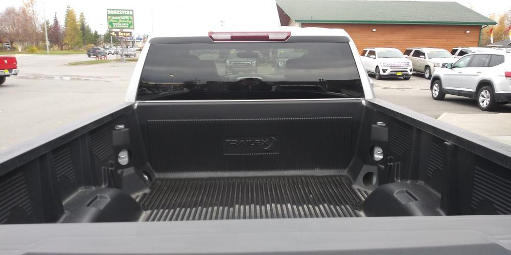 2020 Silver Chevrolet Silverado 1500 LT Double Cab 4WD (1GCRYDED1LZ) with an 5.3L V8 OHV 16V engine, 6A transmission, located at 44152 Sterling Highway, Soldotna, AK, 99669, (907) 262-5555, 60.484917, -151.062408 - Photo #4