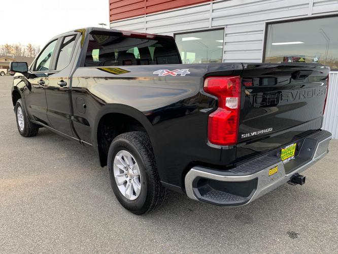 2020 Black /Black Chevrolet Silverado 1500 LT Double Cab 4WD (1GCRYDED7LZ) with an 5.3L V8 OHV 16V engine, 6A transmission, located at 1960 Industrial Drive, Wasilla, AK, 99654, (907) 376-5555, 61.573475, -149.400146 - Photo #3