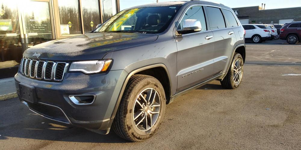 2019 Blue Jeep Grand Cherokee Limited 4WD (1C4RJFBG9KC) with an 3.6L V6 DOHC 24V engine, 8A transmission, located at 44152 Sterling Highway, Soldotna, AK, 99669, (907) 262-5555, 60.484917, -151.062408 - Photo #0