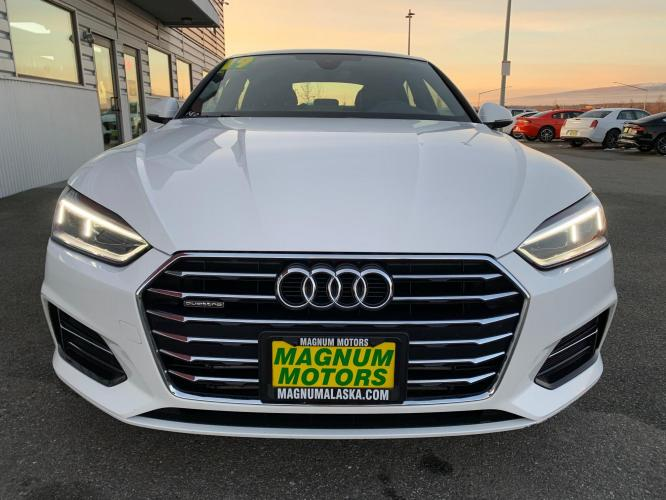 2019 White /Black Audi A5 Premium Sportback quattro (WAUANCF55KA) with an 2.0L L4 DOHC 16V TURBO engine, 7A transmission, located at 1960 Industrial Drive, Wasilla, AK, 99654, (907) 376-5555, 61.573475, -149.400146 - Photo #6