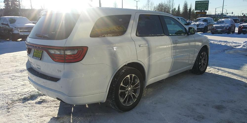 2019 White Dodge Durango R/T AWD (1C4SDJCT9KC) with an 5.7L V8 OHV 16V engine, 8A transmission, located at 44152 Sterling Highway, Soldotna, AK, 99669, (907) 262-5555, 60.484917, -151.062408 - Photo #5
