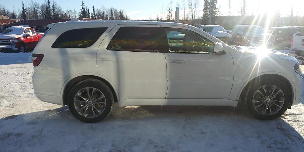 2019 White Dodge Durango R/T AWD (1C4SDJCT9KC) with an 5.7L V8 OHV 16V engine, 8A transmission, located at 44152 Sterling Highway, Soldotna, AK, 99669, (907) 262-5555, 60.484917, -151.062408 - Photo #6