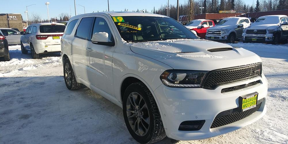 2019 White Dodge Durango R/T AWD (1C4SDJCT9KC) with an 5.7L V8 OHV 16V engine, 8A transmission, located at 44152 Sterling Highway, Soldotna, AK, 99669, (907) 262-5555, 60.484917, -151.062408 - Photo #7