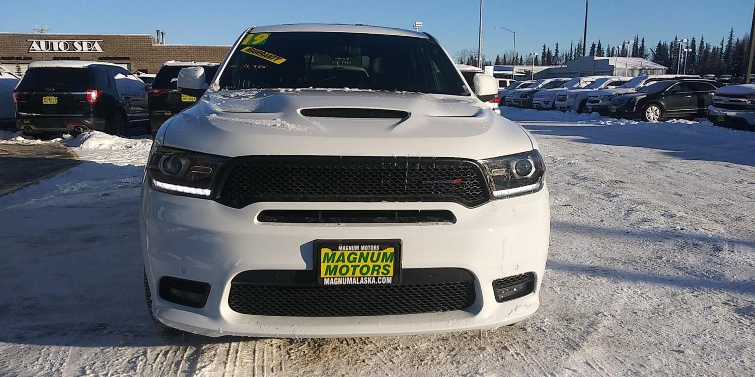 2019 White Dodge Durango R/T AWD (1C4SDJCT9KC) with an 5.7L V8 OHV 16V engine, 8A transmission, located at 44152 Sterling Highway, Soldotna, 99669, (907) 262-5555, 60.484917, -151.062408 - Photo #8