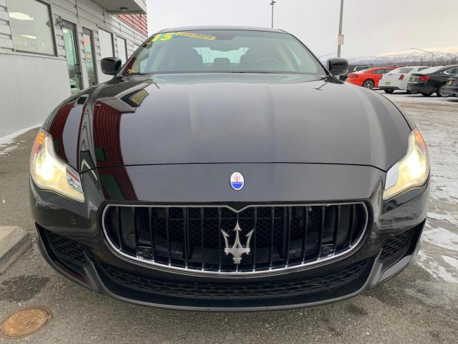 2015 Black /Black Maserati Quattroporte S Q4 (ZAM56RRA5F1) with an 30.0L V6 DOHC 24V engine, 8-Speed Automatic transmission, located at 1960 Industrial Drive, Wasilla, AK, 99654, (907) 376-5555, 61.573475, -149.400146 - Photo #6