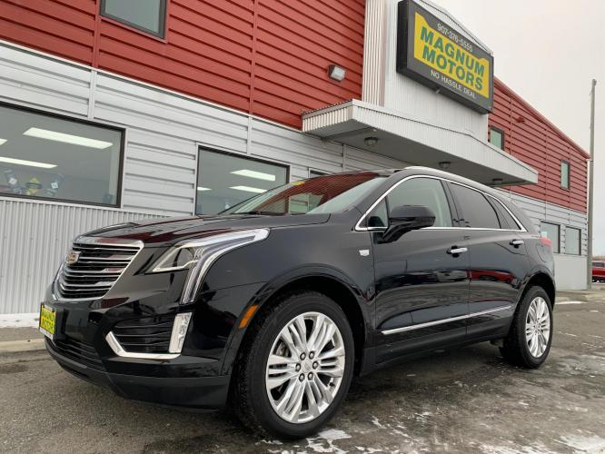 2019 Black /Black Cadillac XT5 Premium Luxury (1GYKNERS2KZ) with an 3.6L V6 DOHC 24V engine, 8A transmission, located at 44152 Sterling Highway, Soldotna, AK, 99669, (907) 262-5555, 60.484917, -151.062408 - Photo #0