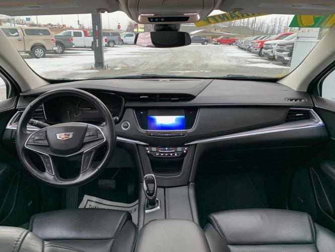 2019 Black /Black Cadillac XT5 Premium Luxury (1GYKNERS2KZ) with an 3.6L V6 DOHC 24V engine, 8A transmission, located at 44152 Sterling Highway, Soldotna, AK, 99669, (907) 262-5555, 60.484917, -151.062408 - Photo #12