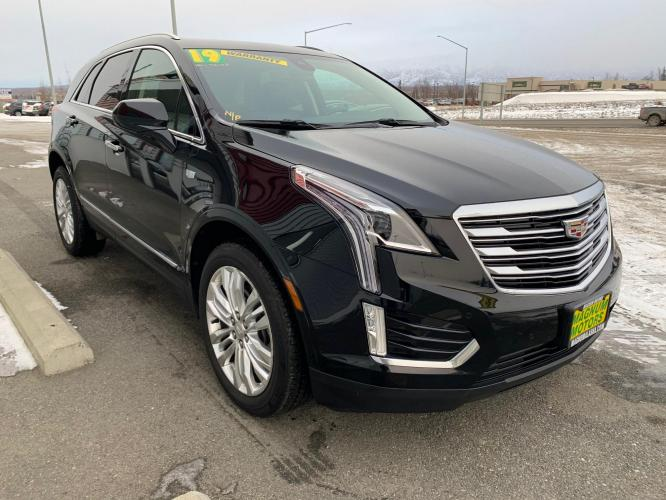 2019 Black /Black Cadillac XT5 Premium Luxury (1GYKNERS2KZ) with an 3.6L V6 DOHC 24V engine, 8A transmission, located at 44152 Sterling Highway, Soldotna, AK, 99669, (907) 262-5555, 60.484917, -151.062408 - Photo #6