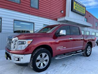 2018 Nissan Titan PRO-4X Crew Cab 4WD w/Wheelchair Lift accessory