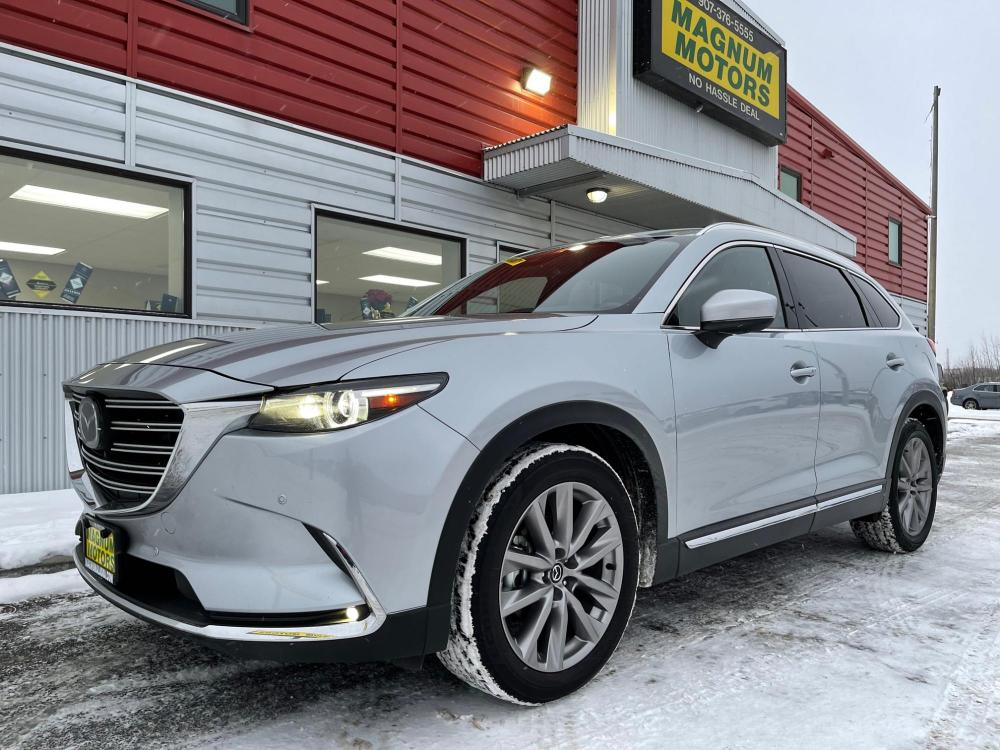 2020 Silver /Black Mazda CX-9 Grand Touring AWD (JM3TCBDY9L0) with an 2.5L L4 DOHC 16V engine, 6A transmission, located at 44152 Sterling Highway, Soldotna, 99669, (907) 262-5555, 60.484917, -151.062408 - Photo #0
