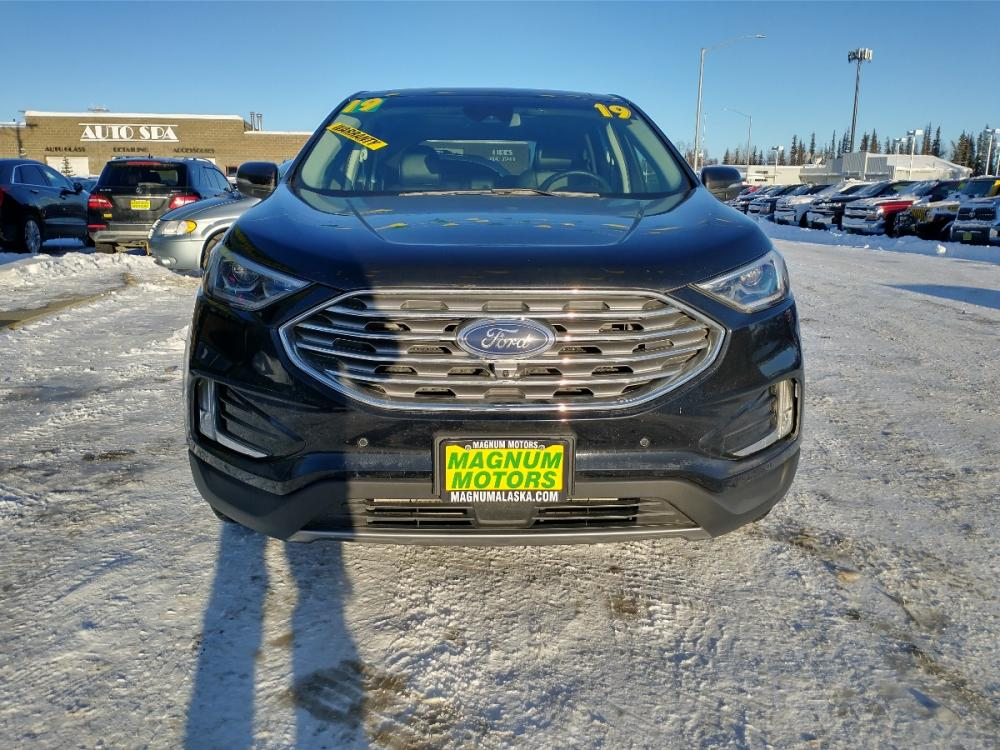 2019 Black Ford Edge Titanium AWD (2FMPK4K95KB) with an 2.0L L4 DOHC 16V engine, 6A transmission, located at 44152 Sterling Highway, Soldotna, 99669, (907) 262-5555, 60.484917, -151.062408 - Photo #8