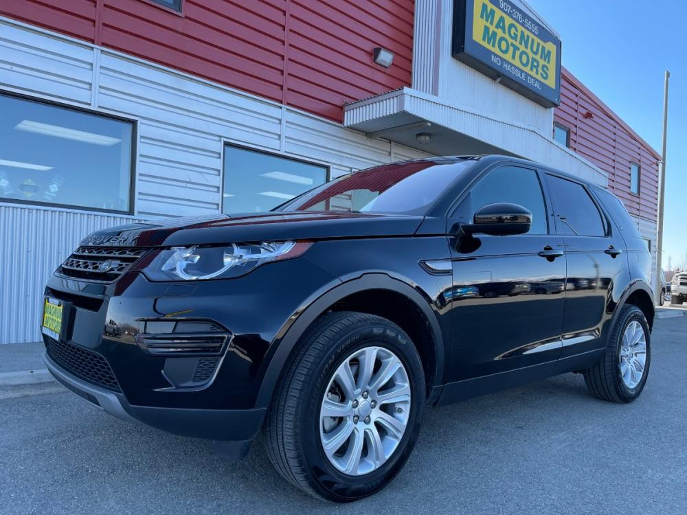 2019 Black /Black Land Rover Discovery Sport SE (SALCP2FX5KH) with an 2.0L L4 DOHC 16V engine, 9A transmission, located at 44152 Sterling Highway, Soldotna, 99669, (907) 262-5555, 60.484917, -151.062408 - Photo #0